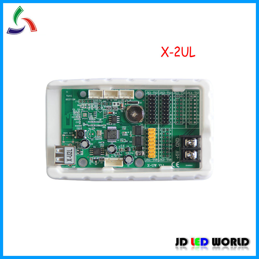 BX X U2L outdoor indoor semi outdoor single and dual color LED scrolling sign controller card