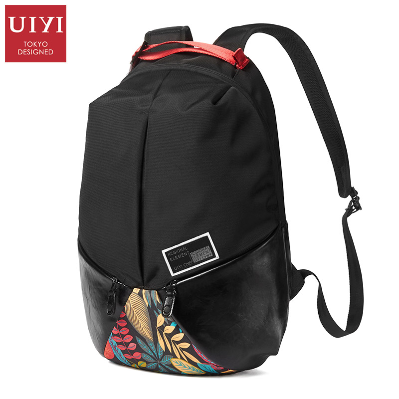 UIYI Brand New Design Backpack Men Large Capacity 14 Inch Laptop Bag Backpack Men School Bags Fashion Teenager Bags For Female