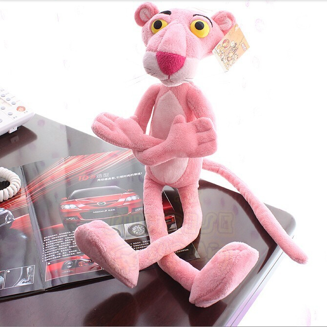50CM New Arrival Stuffed Dolls Leopard Pink Panther Dolls Plush Toys Popular Cartoon Figures High Quality P094