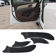 CITALL Carbon Fiber Door Plank Protective Anti Kick Film Sticker for CHEVROLET CRUZE 2008 2009 2010 2011 2012 2013 2014 2015