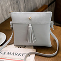 Girls Brand Tassel Small Shoulder Bag 2016 New Messenger Crossbody Bag for Women Mini Flap Bag Ladies Phone Bag Wallets