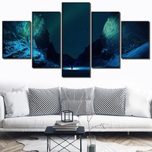 Modern Decor Landscape A quiet night Painting Home Picture Wall Art Canvas HD Printed Paintings