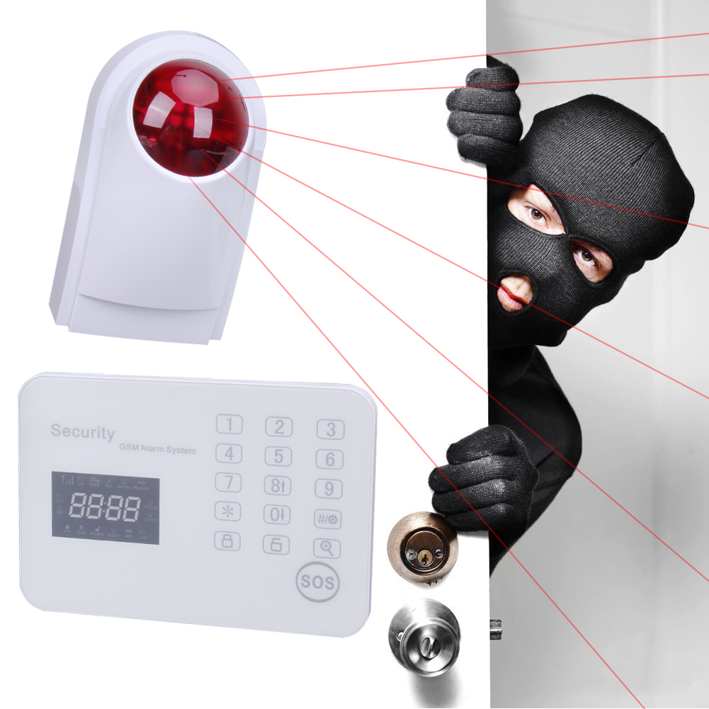Wireless Intelligent Anti-theft Alarm System for JTGSM wl-JT-120CG Network EU Plug Home Safety Door Bell Security Burglar Alarm