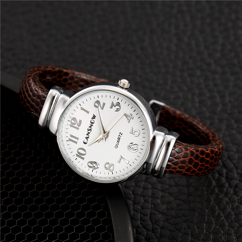 Fashion Bangle Montre Femme Reloj Mujer Leather Stainless Brand Watch Wholesale Quartz Wrist Watches Women New Drop Shipping