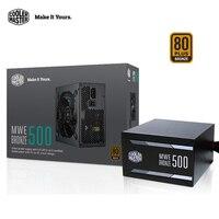 Cooler Master 500W Computer Power Supply 100 240V 80 Plus Bronze Active PFC Queit 500w Desktop