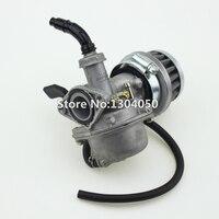 19mm Carburetor PZ19 Carb Air Filter Chinese 50 70 90 110 125 Cc ATV Quad 4