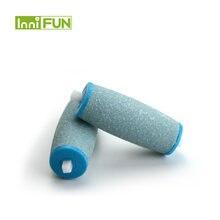 Сменные ролики для ног blue color 2 шт/лот мягкая гладкая профессиональная