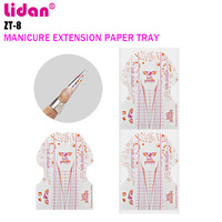 LIDAN Nail Paper Holder 500 Pieces Nail Manicure Extension Finger Care Phototherapy Crystal A Special Tool