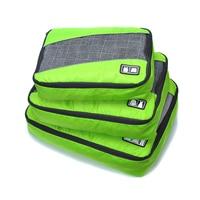 3 Pcs/Set High Quality Waterproof Nylon Travel Mesh Bag Large Ultralight Luggage Organizer Packing Cube Organiser for Clothing