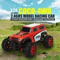 RC Автомобиль SUBOTECH BG1510D 1/24 Хобби 2.4 ГГц Высокая Скорость 4WD Off Road Racer РТР Moster Грузовик Модель Автомобиля Внедорожник RC Toys