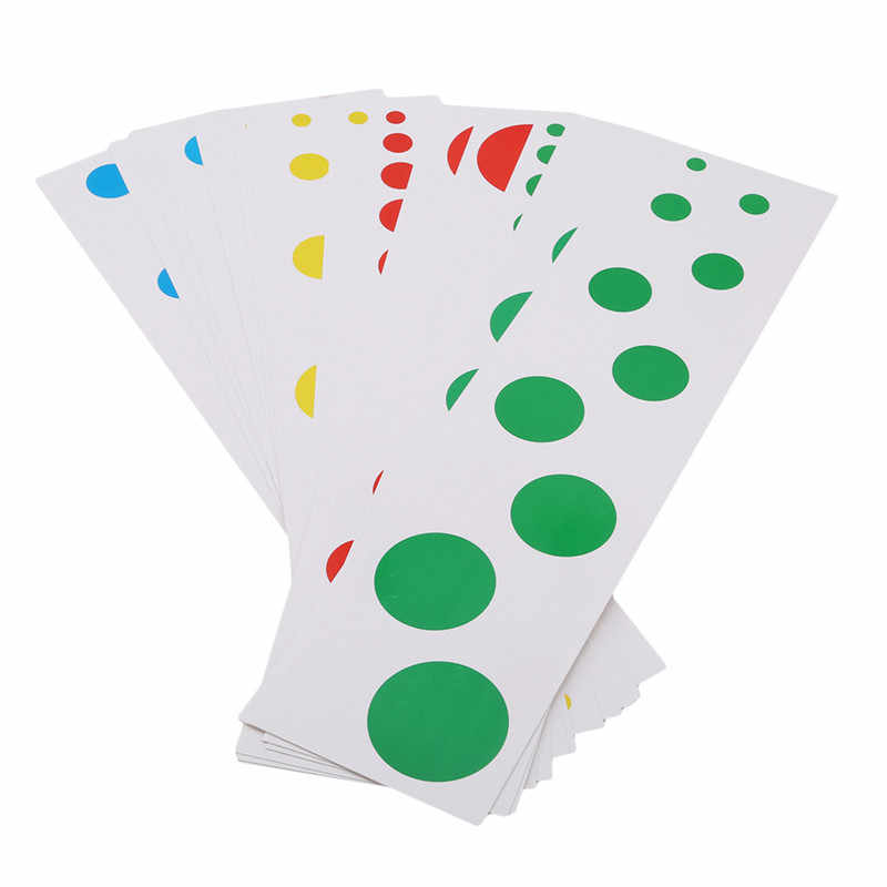 Hot Sale -Cylinder Contrast Card Xmas Montessori Materials Early Educational Kids Montessori Preschool Teaching Aid Toy  Gift