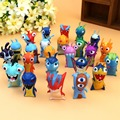 Slugterra PVC Action Figures Model Toys 24pcs/set 4.5CM Dolls Christmas Gift