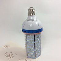 Super bright E27 E40 80W 100W LED Corn Light two fans built in Edison Energy saving LED light for garden/street/square/backyard