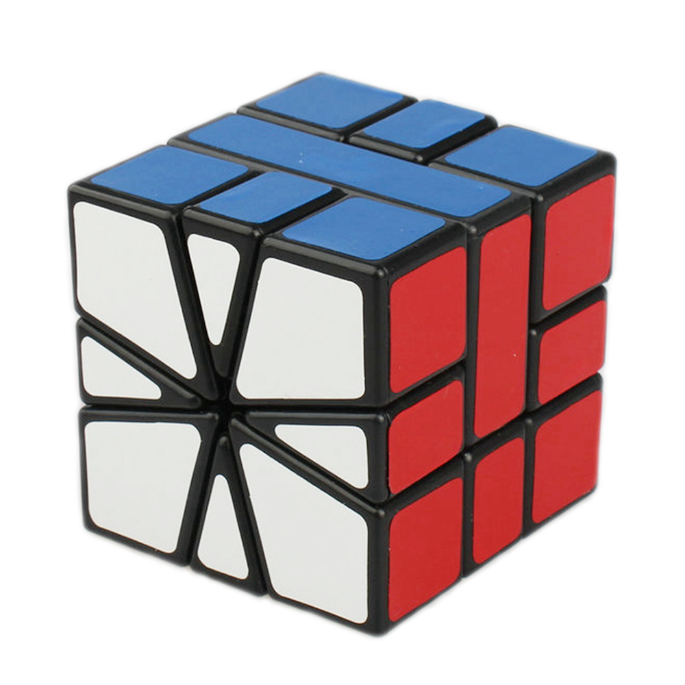 Shengshou 57mm Plastic Speed ​​Puzzle SQ1 Square-1 Square 1 Magic Cube Giocattoli educativi per bambini Bambini
