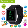 "Torntisc Q1 Андроид 5.1 ОС 512 МБ + 4 ГБ Smart Watch MTK6580 Quad core 1.54 ""IPS smartwatch Поддержка 3 Г Nano SIM WiFi GPS Google Play"