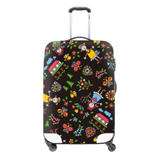 5 elastic polyester travel luggage cover for 20-32inch suitcase Protective Cover Travel Trunk Dirt-Proof