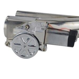 "Image 4 - Universal 2,5 /3"" Doppel Ventil Elektrische Auspuff Cut Out Ventil Auspuff Muffler Kit mit Wireless Remote control PQY EMP86"
