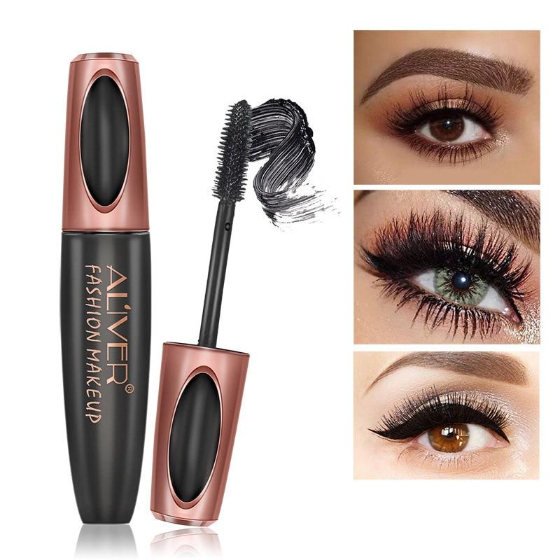 Eyelash Mascara 4D Silk Fiber Extension Mascara Waterproof ...
