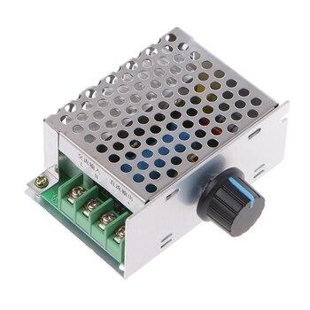 AC 入力 220 V DC 出力 10-210 V PWM 220 12V DC ブラシモータ速度コントローラ # Aug.26