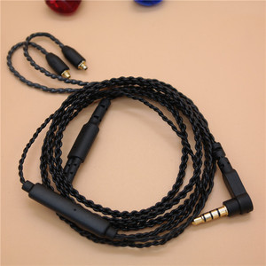 Image 2 - DIY ie800 headphone cable   Single crystal copper wires, 14 core X4 high end   earphone cable