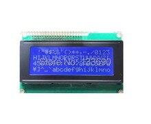 5 יח\חבילה LCD 2004 20x4 LCD התווים מודול תצוגת HD44780 בקר כחול מסך תאורה אחורית