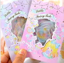 fantasy Wonderland Scrapbooking Stickers Alice Prologue kawaii planner fairy tale stickers Cute Korean Stationery(China)