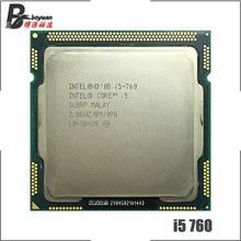Intel core i5-760 i5 760 2.8 ghz processador cpu quad-core 8 m 95 w lga 1156