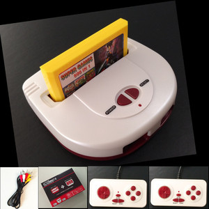 Retro Dual Controller 8 Bit TV Video Game Console For FC Classic Games Family Game Player Built In 53 Games best gift for kid