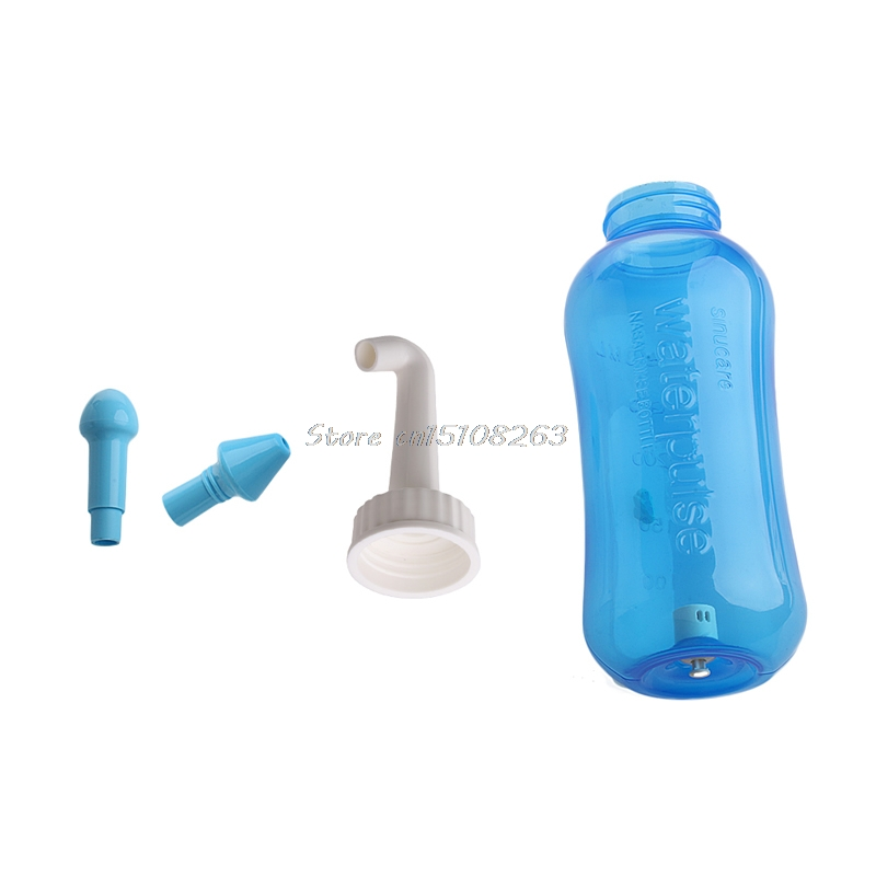 Voksne Børn Næsevask System Ren Sinus Allergier Nasal Pressure Neti - Hudpleje værktøj - Foto 4