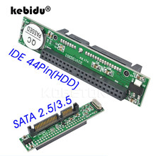 Ide 44pin 2.5 para sata conversor de adaptador para pc 1.5gbs serial conversor de adaptador ata 133 100 hdd cd dvd disco rígido de série