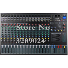 16 Channel Karaoke Audio Mixer Amplifier Professional Microphone Sound Mixing Console with USB Band Effect