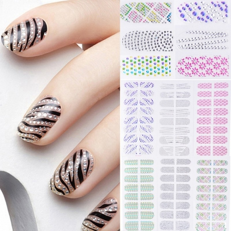 New nail decorations christmas diy nail art water transfer nail new nail decorations christmas diy nail art water transfer nail art stickers decals flower designer beauty nail wraps tools ynn in stickers decals from prinsesfo Choice Image
