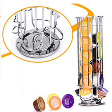 Top Home Solutions Dreh Rotierenden 32 Capsule Kaffee Turm Stand Rack Für Dolce Gusto