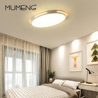 Ultra thin LED Mordern Simple Ceiling Light Lamp super Bright Black White Round for Living Room Bedroom Foyer Dinning Room