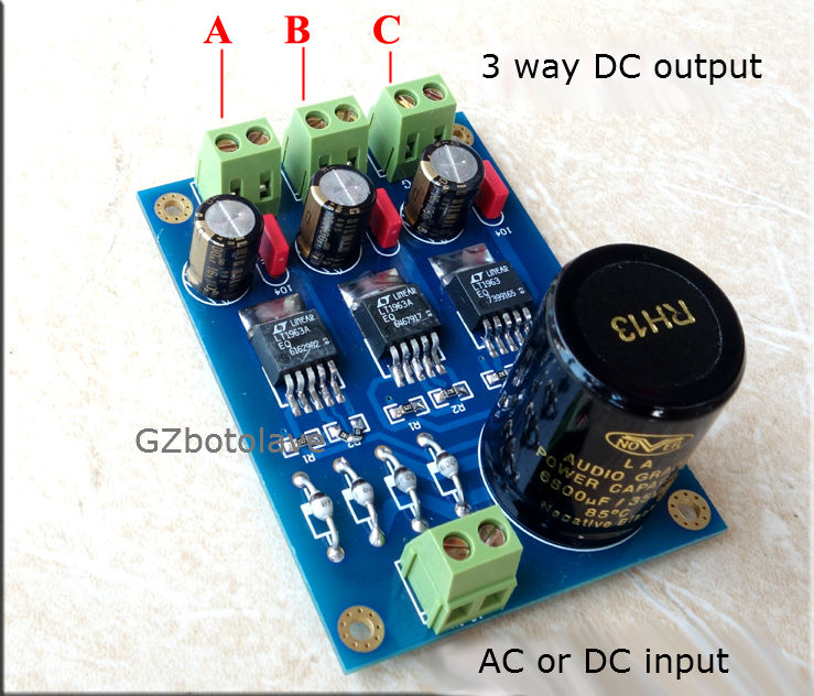 Free ship NEW LT1963A High Speed Low Noise Triple Independent Linear Regulator Power Supply Amanero XMOS DACFree ship NEW LT1963A High Speed Low Noise Triple Independent Linear Regulator Power Supply Amanero XMOS DAC