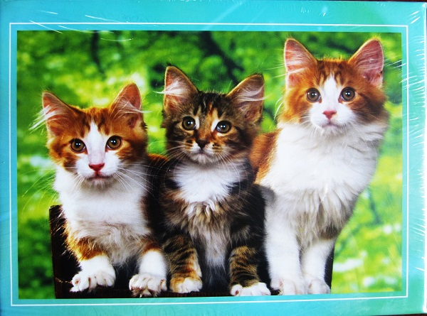 300 Pcs 500 Pcs 1000 Pcs Cute Cats Free Online Jigsaw