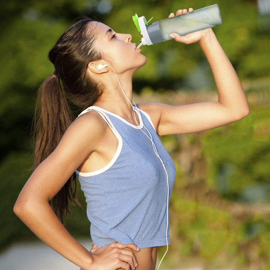 Creativo Deportes de Agua Botella de Spray de Agua Diseños Tasse Bottiglie Plást