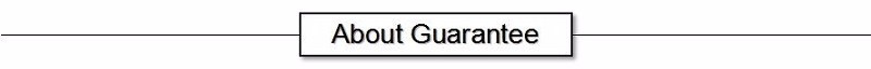 about guarantee