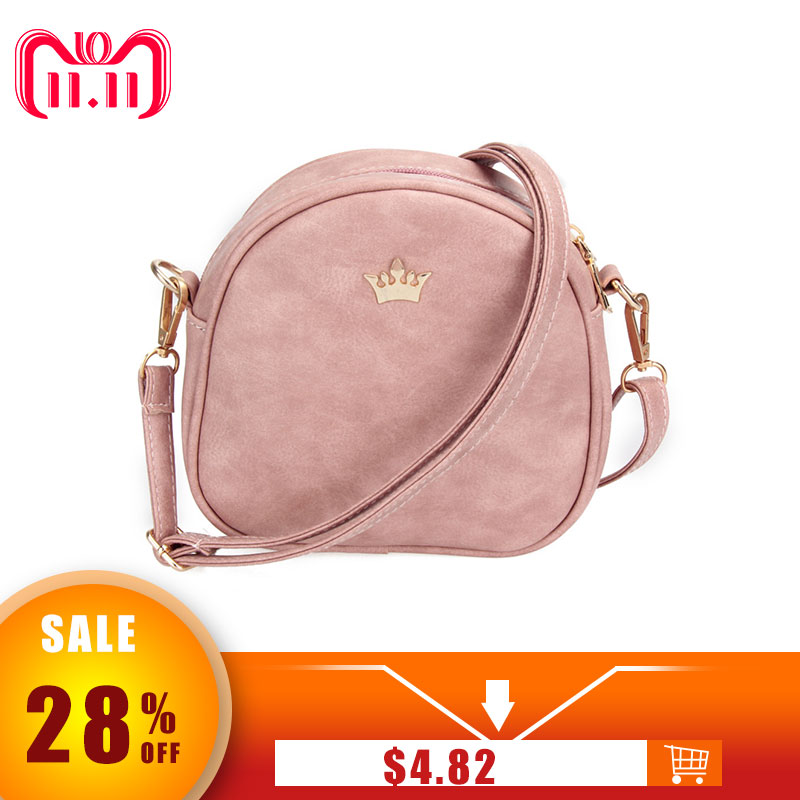 Women Bag Imperial Crown Women Messenger Bag Small Shell Crossbody Bag 2018 New PU Leather Fashion Designer Handbag Phone Purse переходник micro hdmi m vga f espada cg593