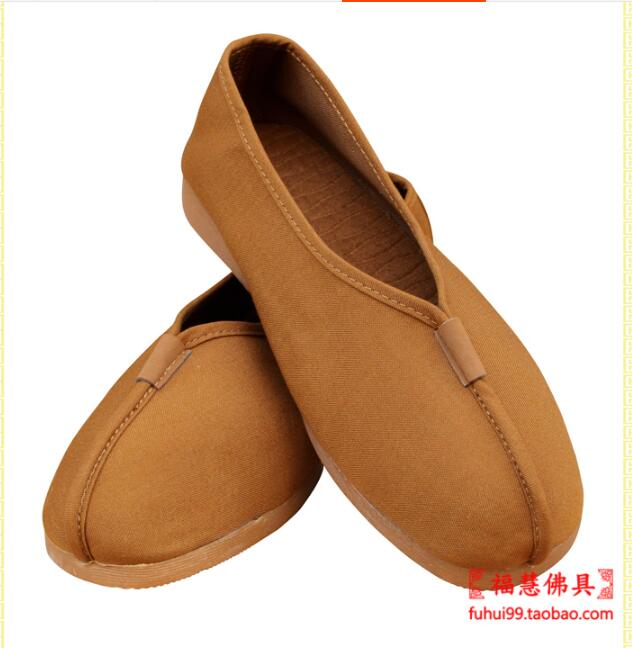 Cloth shoes Buddhist supplies Handmade Monk shoes