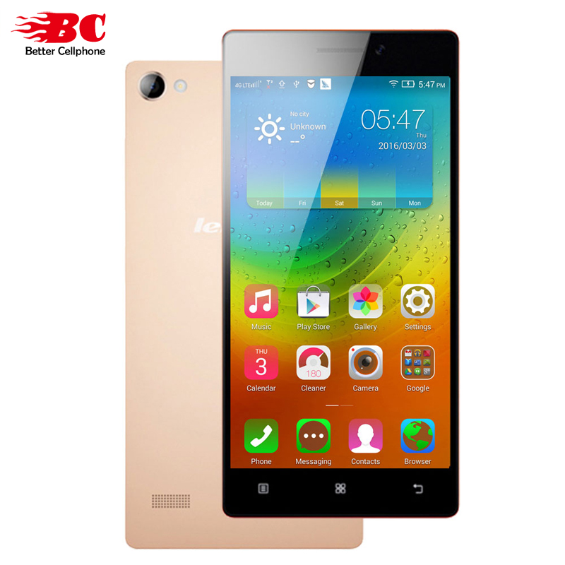 "Original Lenovo VIBE X2 X2-TO Mobile Phone MT6595m Octa Core 2.0GHz 5.0"" 1080P 2GB RAM 16GB ROM 13MP GPS Dual Sim Android 4.4"
