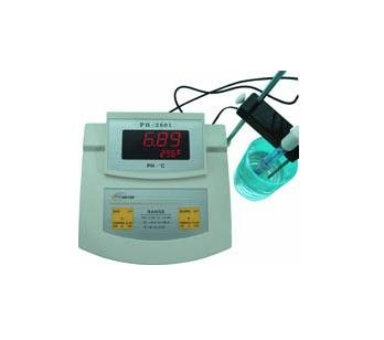 где купить High Accuracy Bench top Bench-top PH Temperature Meter Free shipping wholesale and retail по лучшей цене