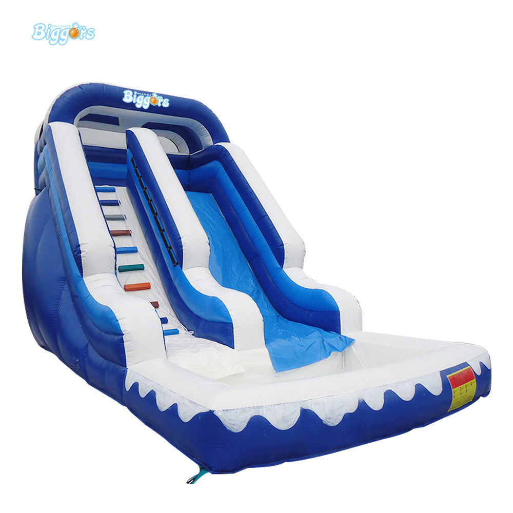 Backyard Slides Park Inflatable Water Slide With Pool for kids
