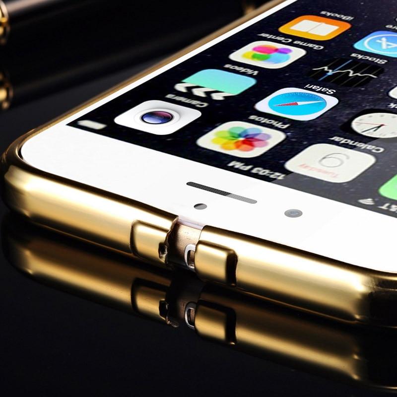 Spegelväska för iPhone 6 4,7 tums lyx akryl + aluminium smal - Reservdelar och tillbehör för mobiltelefoner - Foto 6