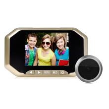 3.5 Inch TFT Color Screen Peephole Viewer Motion Detection Video Door Phone