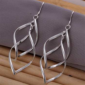 hot cute for women lady Beautiful party jewelry silver color earrings fashion jewelry charm wedding holiday.jpg 350x350 - hot , cute for women lady Beautiful party jewelry silver color earrings fashion jewelry charm wedding holiday gifts E168