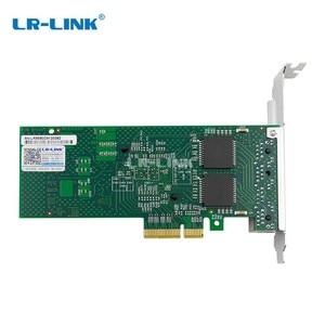 Image 3 - LR LINK 9704HT PCI Express Gigabit Ethernet karta sieciowa Lan Quad Port RJ45 Adapter serwera Intel 82580 I340 T4 kompatybilny nic