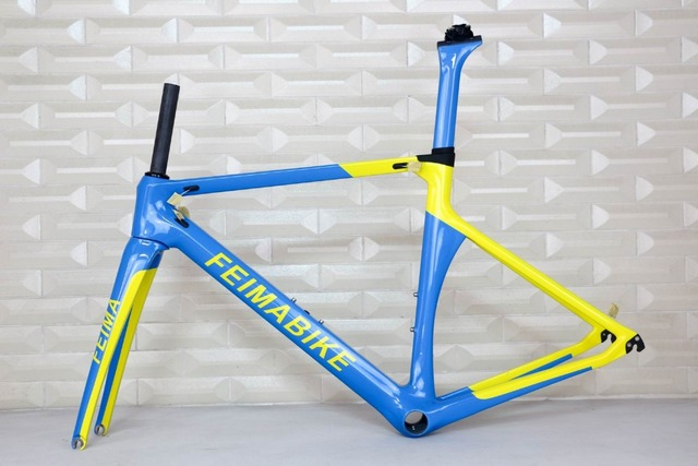 TANTAN company customized paint new road bike carbon frame carbon ...