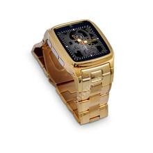 TOP Uhr TW810D TF SIM Uhr Telefon Edelstahl Männer Handgelenk SmartWatch für Android Phone Pedometer Fernbedienung Smart Uhr