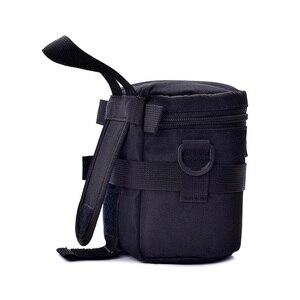 Роскошный чехол для объектива камеры, водонепроницаемый чехол для DSLR Nikon Canon Sony Olympus, чехол для линз с мягкой подкладкой, сумка для объектива